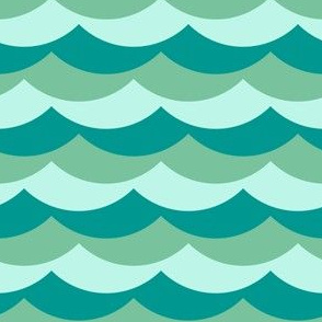 04160293 : scallop wave zigzag : surf