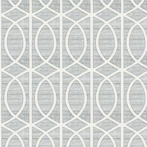 Regalia Geometric Dove Grey
