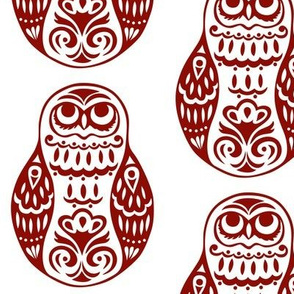 Swirls Original Owl