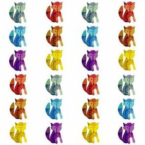 Rainbow Foxes