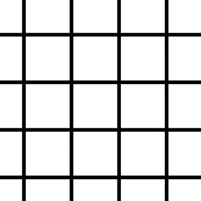 Grid black and white large