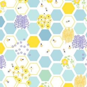 honeycomb flowers