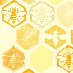Dance of Bees - light yellow