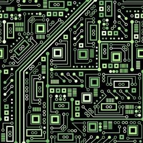 Short Circuits (Black and Green)