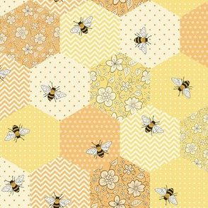 Patchwork Bees