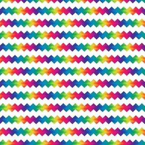small rainbow ric-rac on white