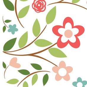 Flower border for Mom