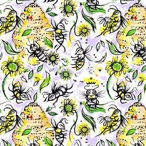 Daisy Bees and Honey