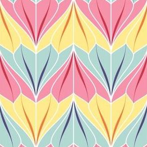bell flower 2j 3 - spring quilt