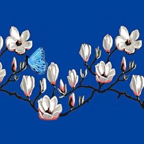 Magnolia blossom // Spring Butterfly Magnolia