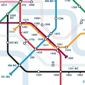 Time Travel Map