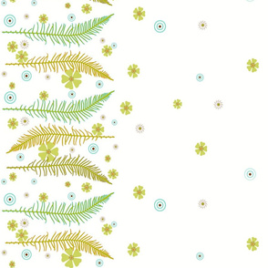 Fancy Ferns border