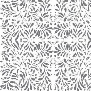 Trellis Lace in Grey