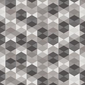 Hexagon in gray
