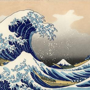 Great Wave off Kanagawa 42w 29h repeat