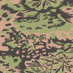 Palm Camo Palmenmuster Spring Colors