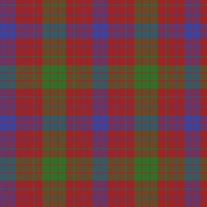 "Ross clan tartan, 8"" modern colors"