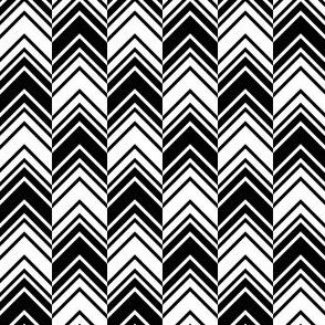 04188062 : binary chevron : black + white