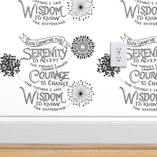 Wallpaper The Serenity Prayer