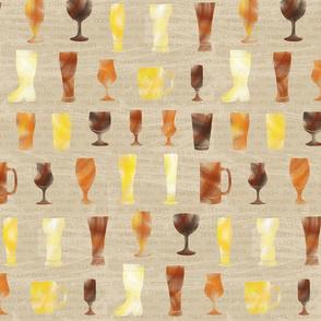 Craft Beer Glasses - © Lucinda Wei