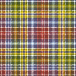 "Waggrall family tartan - 9"" autumn colors"