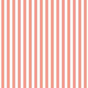 stripes vertical peach