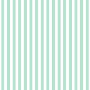 stripes vertical mint green