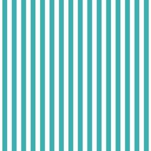 stripes vertical teal