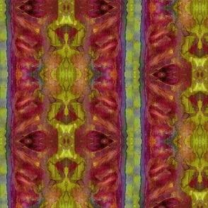 Watercolors Strength 3 Golden Vertical
