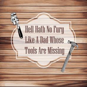 Woodshop tool pillow saying