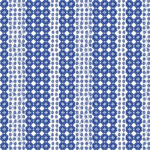 Starry Trellis Stripe