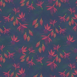 Fabulously Fuchsias (Dark)(Smaller scale)