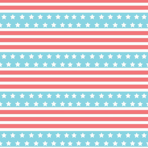 American Flag Stripes