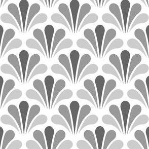 splash - greyscale on white