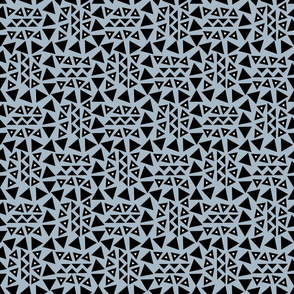 tribal_triangles_blue_background_with_white_triangle_middles