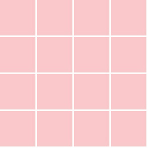 Grid medium weight in ballet pink