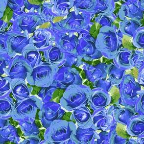 Abundant Roses - Lavender Blue