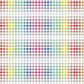 Fibonacci Spots rainbow