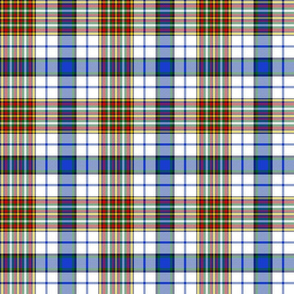 Gayre arisaidh or white dress tartan, 6""