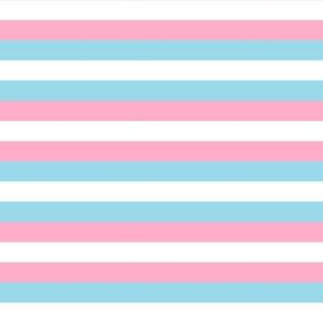 Trans Pride Stripes (lighter)