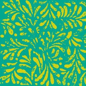 Trellis lace in pineapple