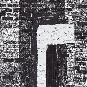 Bright Doorways/blk & wht