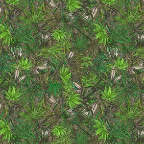 Emerald Green Ganja Camo
