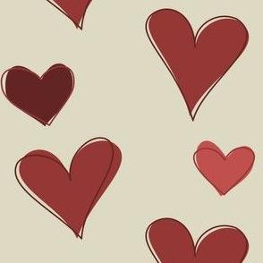 Hearty Scribbles 001