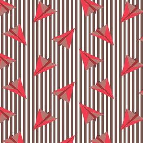 Paper planes red joy
