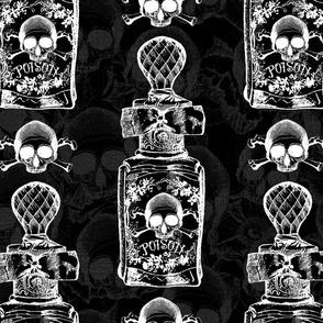 Pretty Poison Bottle Gothic