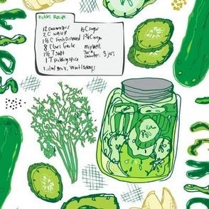 Farmer's Market Pickle Recipe