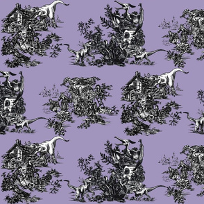 Jurassic Toile Purple