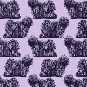 Standing Puli - purple