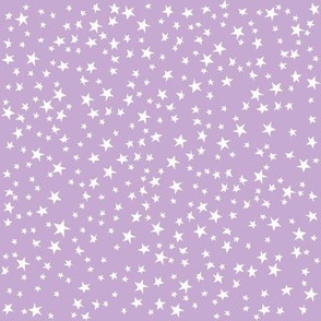 Scattered Stars (Pastel Purple)